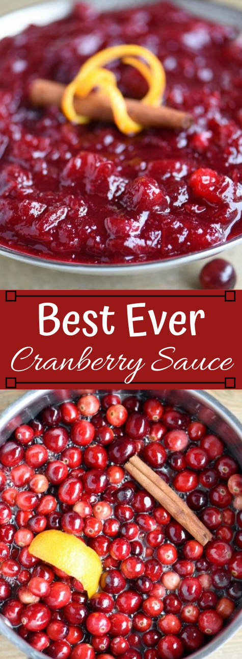 BEST EVER CRANBERRY SAUCE #desserts #sauce #cranberry #easy #cakes