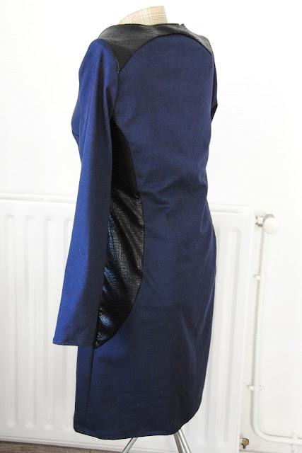 robe bimatière graphique