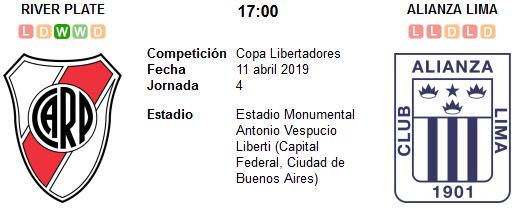 River Plate vs Alianza Lima en VIVO