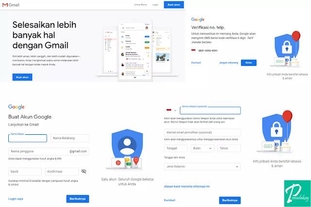 Cara Membuat GmailLewat PC