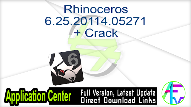 Rhinoceros 6.25.20114.05271 + Crack