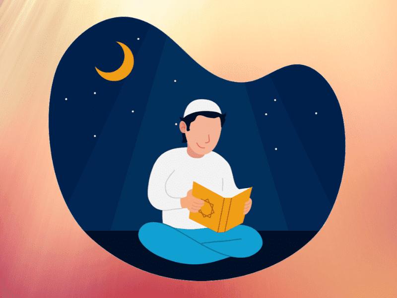 membaca quran setiap hari