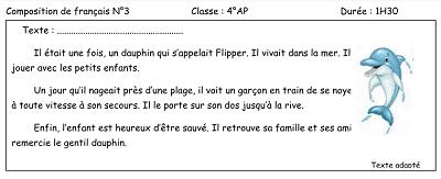 Telecharger Sujet Composition 3eme Trimestre Francais 3ap
