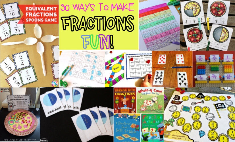 FUN FRACTION ACTIVITIES