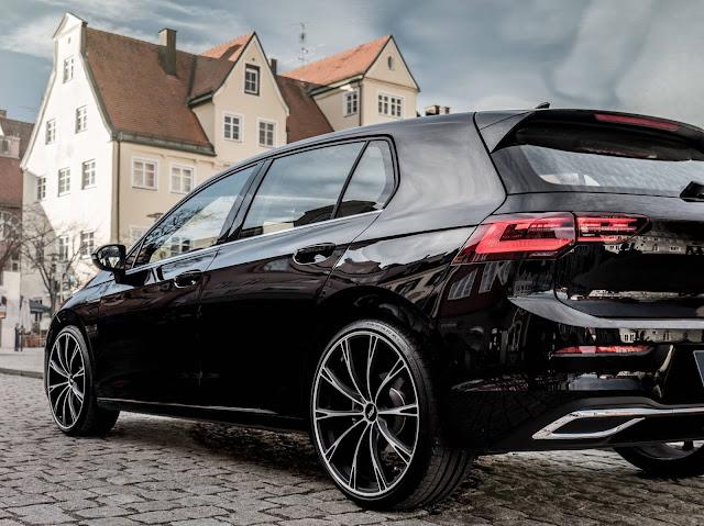 Novo VW Golf 2021 rebaixado
