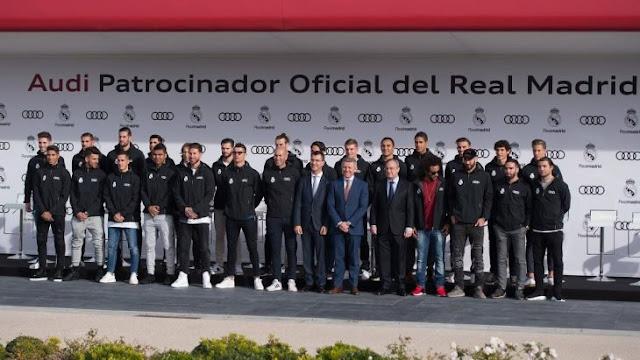 Audi le regala autos al Real Madrid, esto escogieron