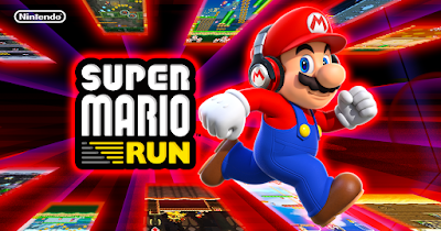 لعبة super mario run,