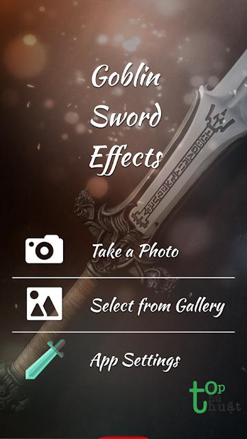 """Hướng dẫn cách tạo ảnh """"kiếm đâm xuyên"""" trên điện thoại Android cực độc"""