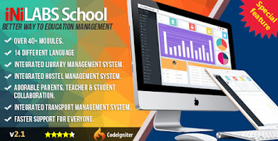 Inilabs School Management System Express