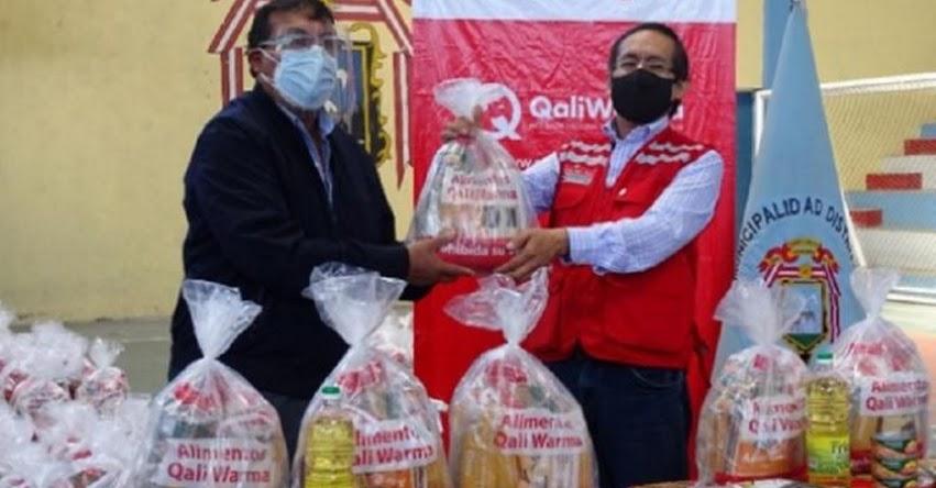 QALI WARMA: Programa social entrega 41 toneladas de alimentos a Cerro Colorado, Miraflores y Mariano Melgar en Arequipa - www.qaliwarma.gob.pe