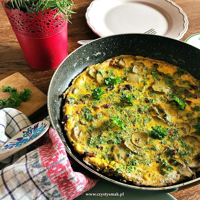 Omlet z niskim indeksem glikemicznym