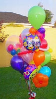 Balon pelepasan Fancy