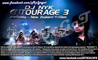 DJ NYK's – ENTOURAGE 3 ( AUSTRALIA – NEW ZEALAND )