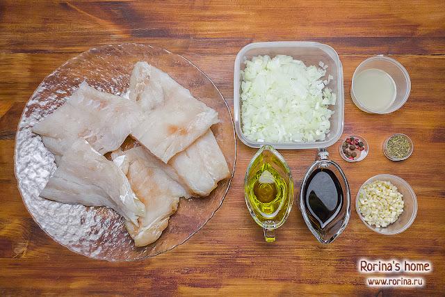 Филе трески в маринаде: рецепт