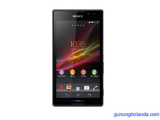 Tutorial Cara Flashing Sony Xperia C C2305