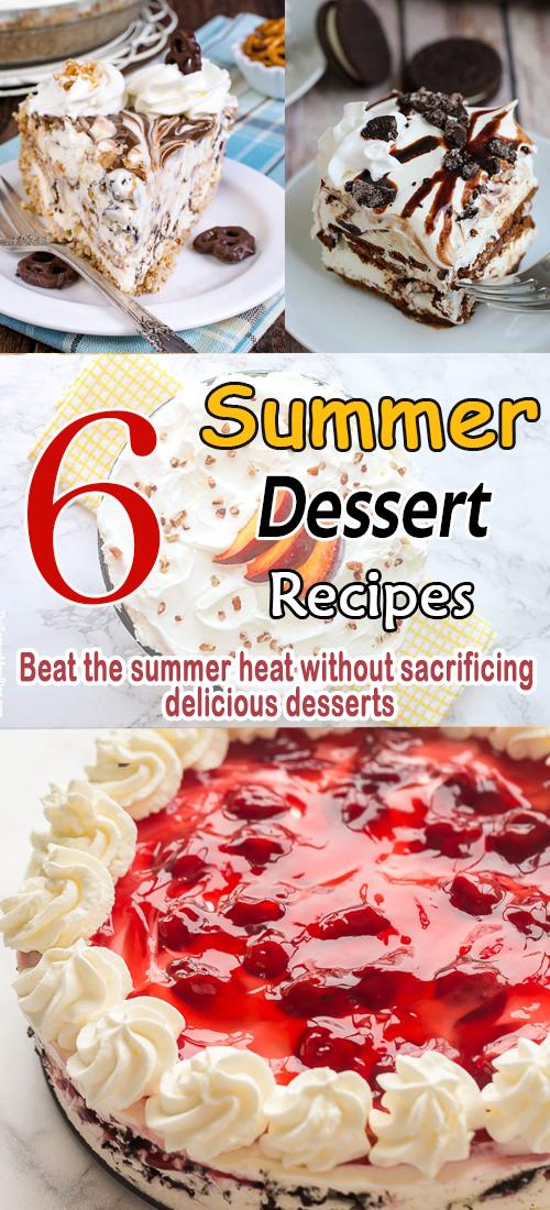 6 Summer Dessert Recipes