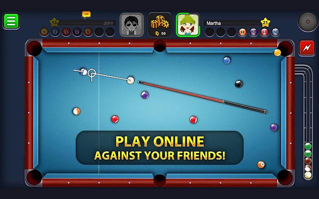 كيفية اللعب مع الصديق في لعبة 8 ball pool