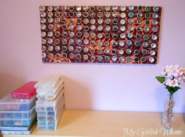Magnetic board.