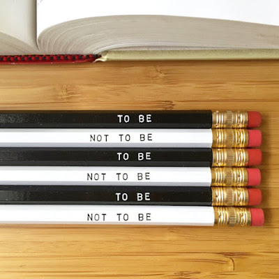 Shakespeare Pencils on Etsy | gift guide on Tomes and Tequila book blog