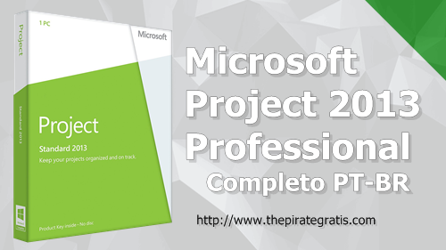 Download Project 2013 Professional 32/64 Bits PT-BR Completo