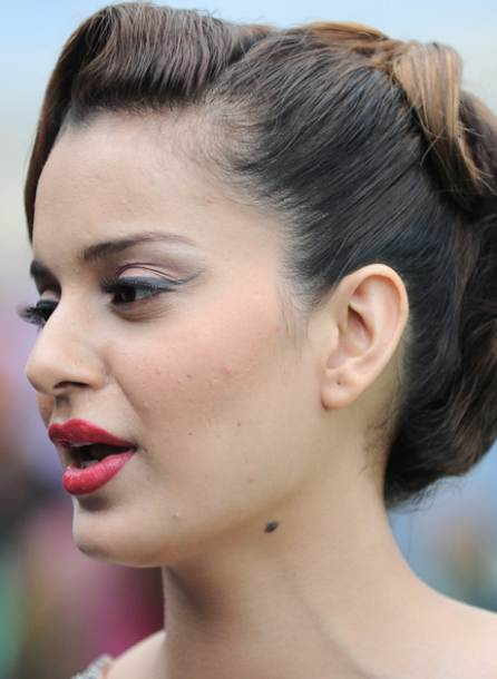 Kangana Ranaut Hot Lips Pics in 2016
