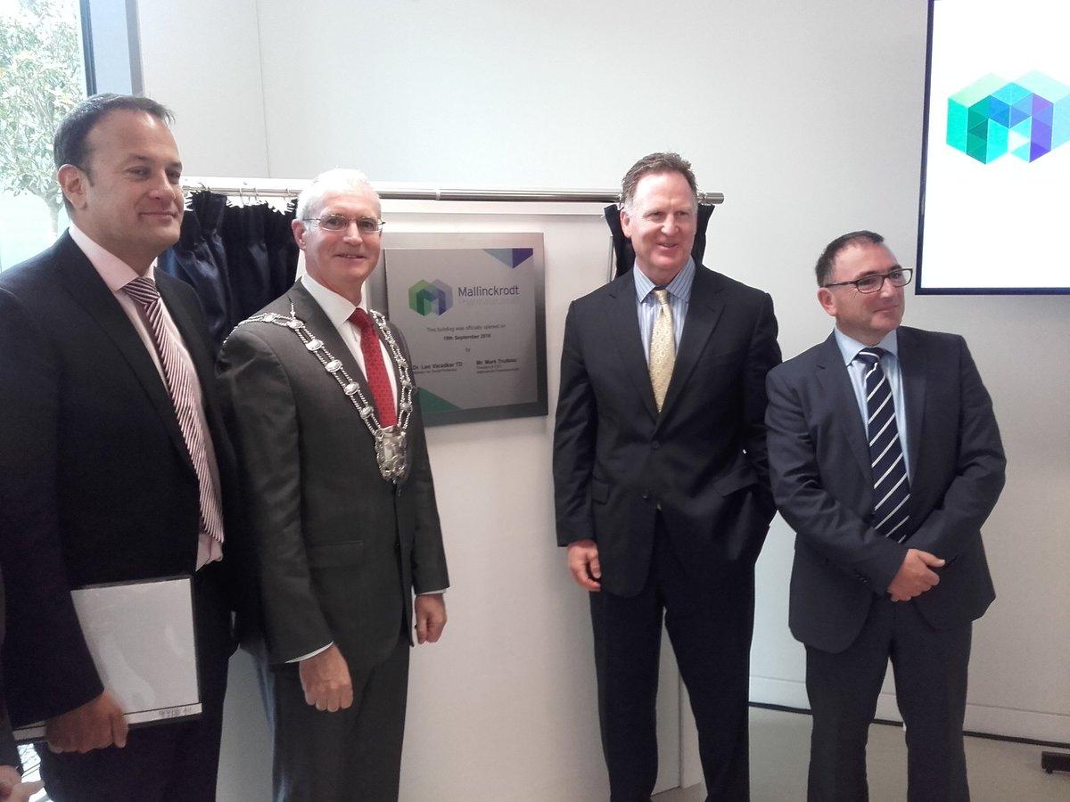 Cllr  Kieran Dennison: Mallinckrodt Grows Investment in Dublin