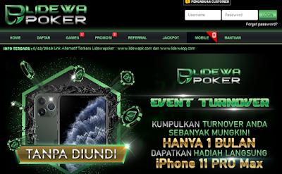 Hadiah Agen Poker Online Lidewapoker Dan Tamuqq Sangat Menggiurkan