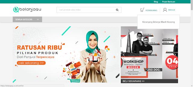 BelanjaQu Paytren: Cara Mudah Buka Toko Dan Belanja Online