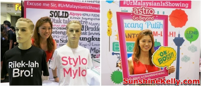 merdeka 2013, Astro, Your Malaysian is Showing, Go Beyond, Positive Engine, Event, Mid Valley megamall, sunshine kelly