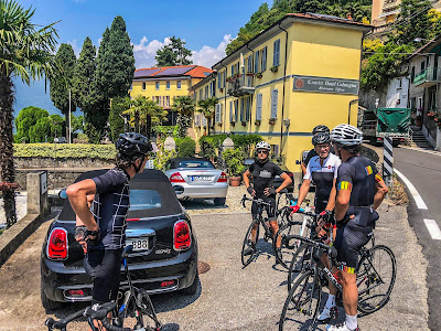 full carbon road bike rental cycling lake maggiore lugano italy switzerland