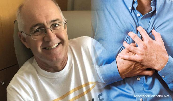 Hombre sobrevive a paro cardíaco