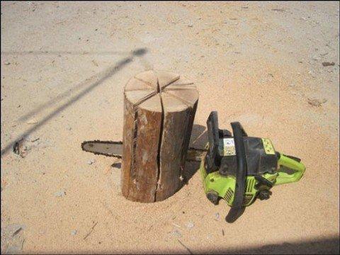 cocina, troncos, bricolaje, supervivencia, camping