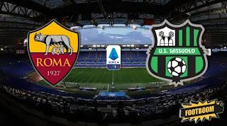 Рома – Сассуоло смотреть онлайн бесплатно 15 сентября 2019 прямая трансляция в 19:00 МСК.
