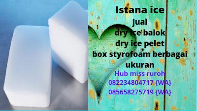 Jual Dry ice Murah Bekasi