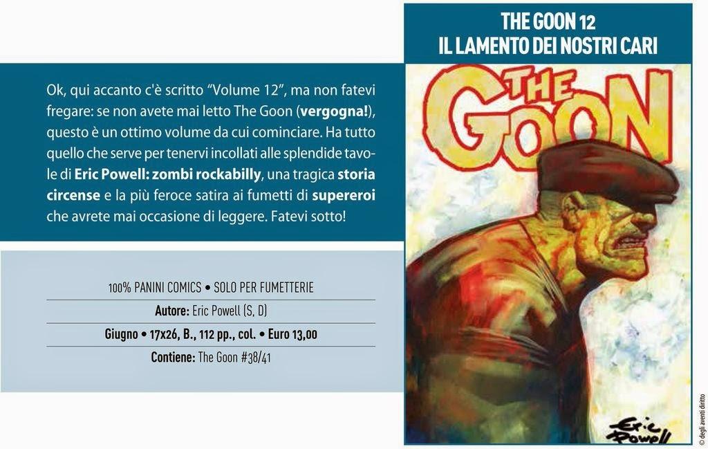 The Goon #12 - Il lamento dei nostri cari