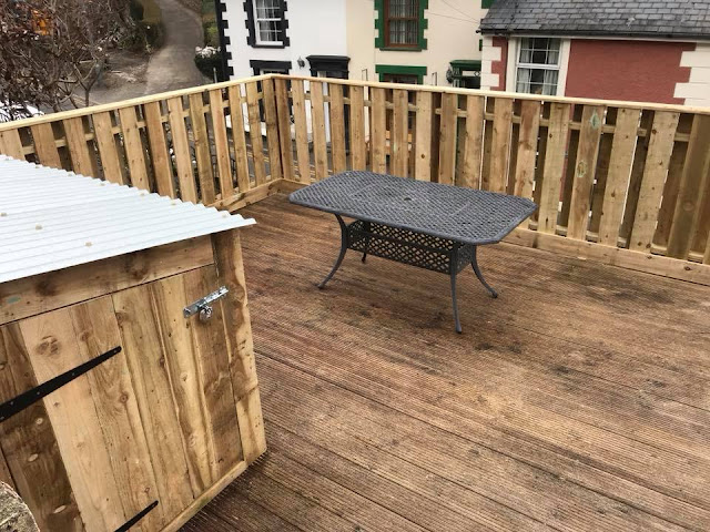 decking and fencing wales