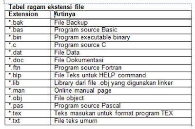 Pengertian Majamen File