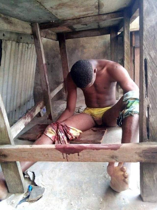 Man's corpse discovered in Rivers after bleeding to death during election (Graphic photo)