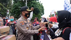 Kabidhumas Polda Jateng: Kekawatiran Kami Terbukti 11 Buruh Demo Tolak UU Ciptaker Semarang Positif Covid-19