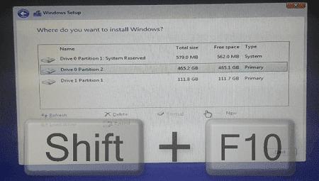 حل مشكلة Windows cannot be installed to this disk  The selected disk is not of the GPT partition