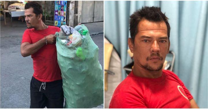 Garbage man's 'celebrity' transformation goes viral