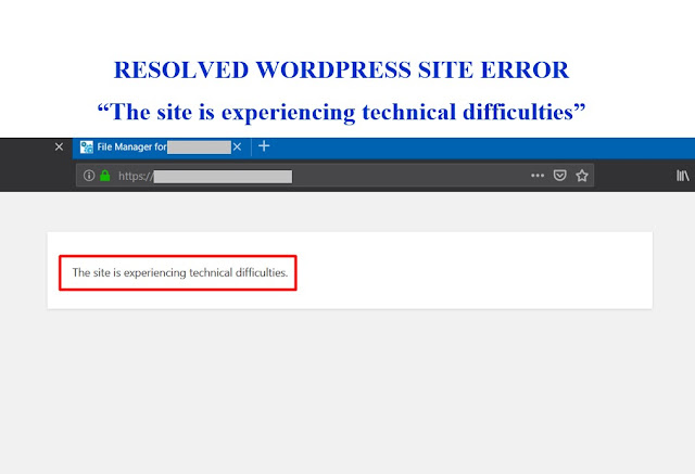 resolved-wordpress-error-wsod-the-site-is-experiencing-technical-difficulties