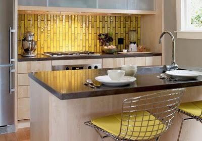 Dise o de cocinas con azulejos cer micos c mo dise ar - Azulejos de cocina modernos ...
