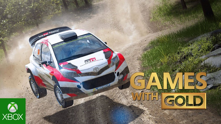 wrc 6 xbox live gold free game