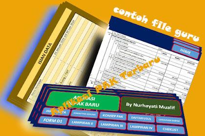 Aplikasi Dupak Terbaru 2016 Versi Excel