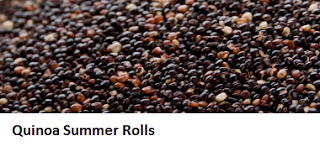Quinoa Summer Rolls
