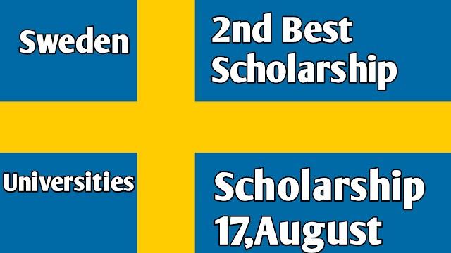 Sweden Universities Scholarship 2021