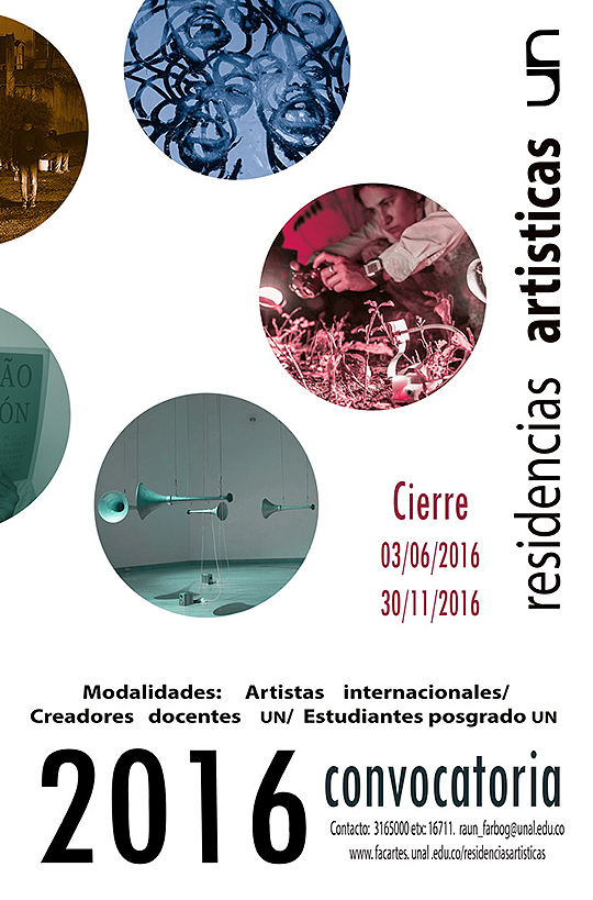 Residencias Artísticas UN 2016