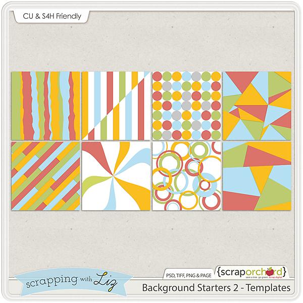 http://scraporchard.com/market/Background-Starters-2-Digital-Scrapbook-Templates.html