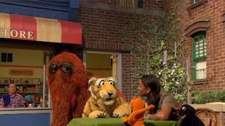 Alan, Snuffy, zookeeper Audra McDonald, Sesame Street Episode 4414 The Wild Brunch season 44